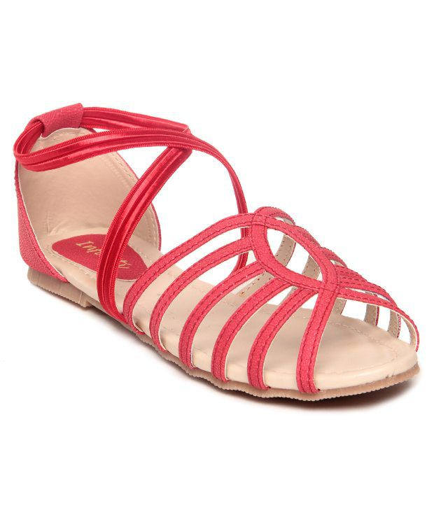 Infiniti Red Sandal