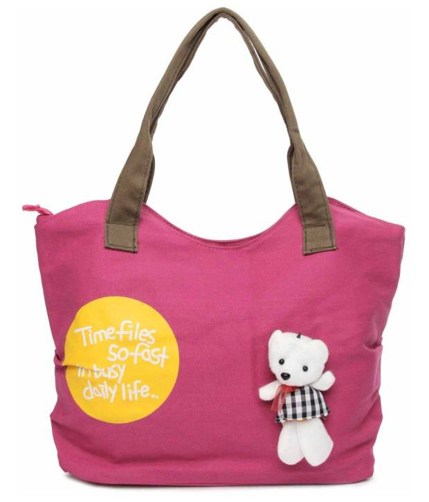 Kiara 10585-Pink Tote Bag