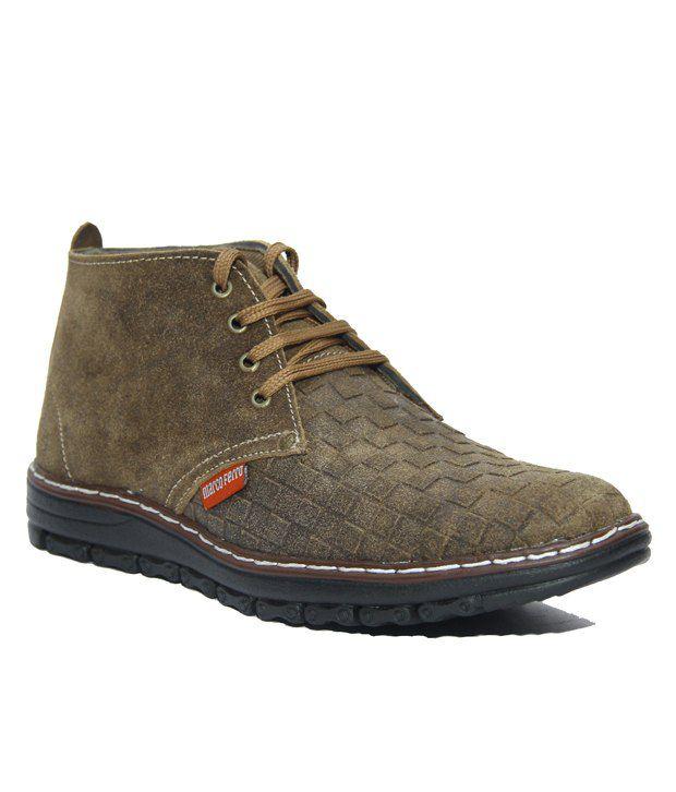 Marco Ferro Brown Boots