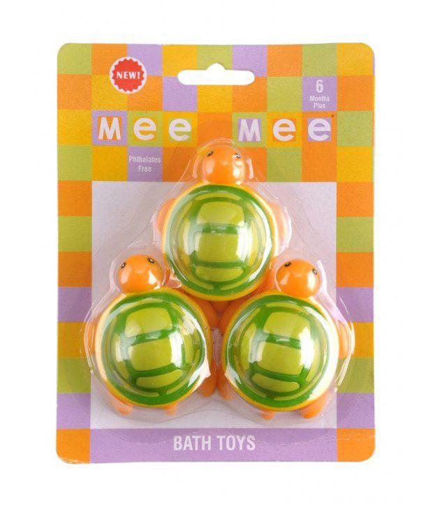 Mee Mee Mee Mee Baby Tortoise Bath Toy_Green