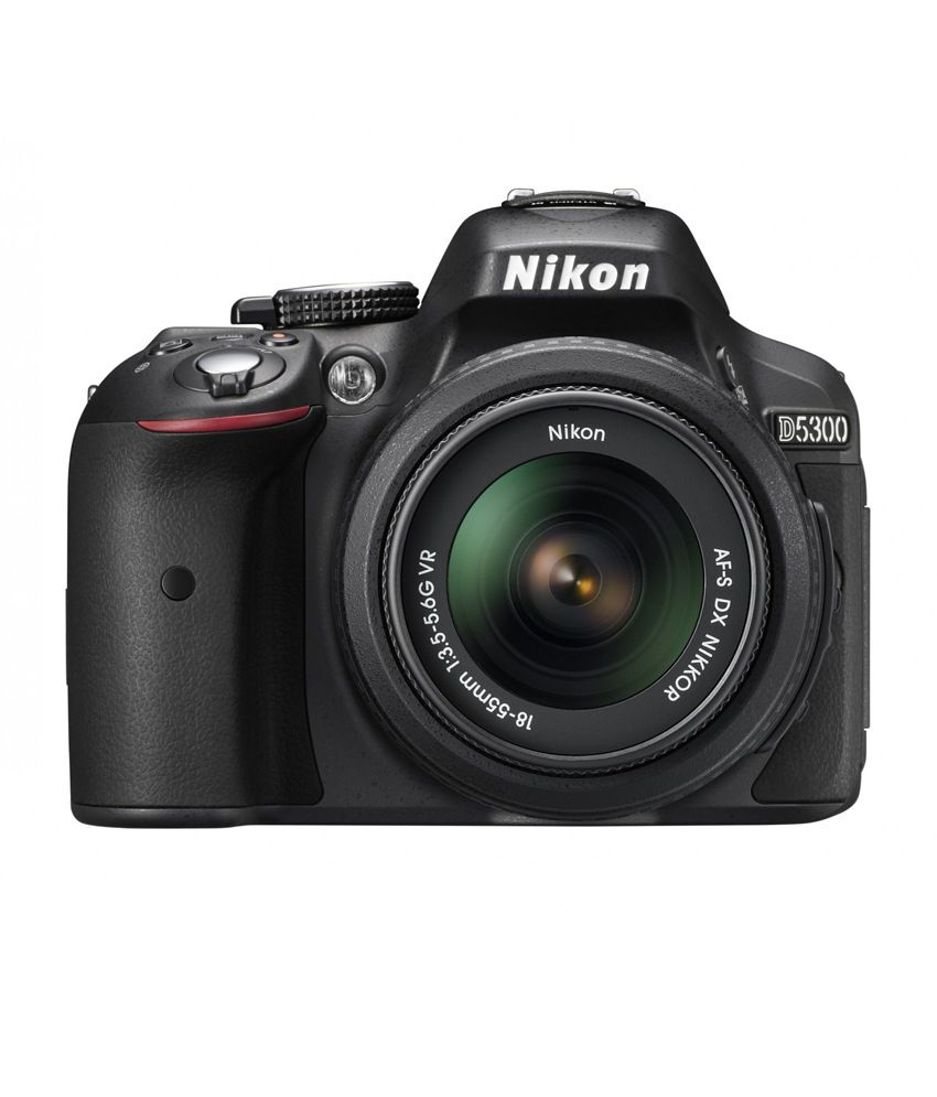 Nikon D5300 with AF P DX NIKKOR 18mm 55mm f/3.5 5.6G VR Lens , Memory card and Bag