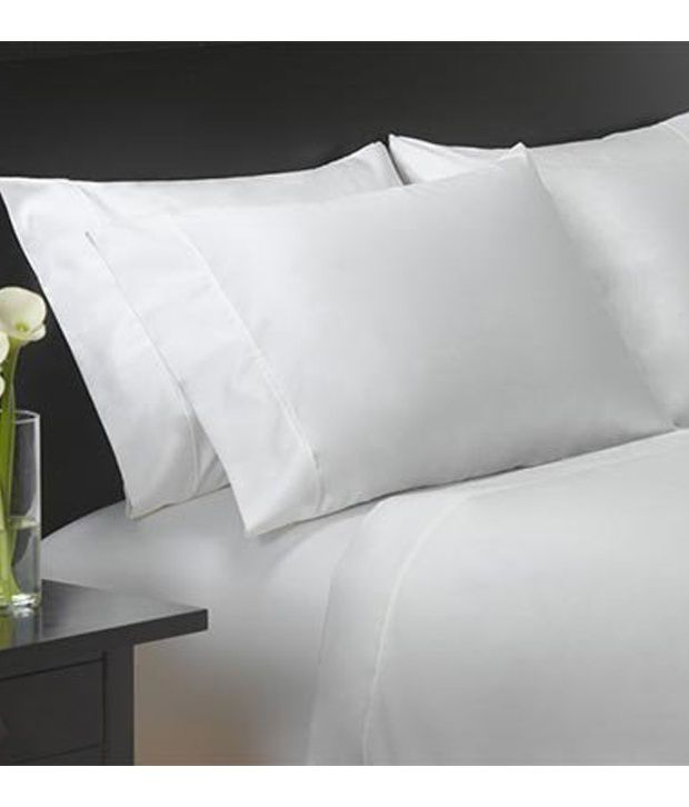 Costco Charisma Sheets White: Charisma 400 Thread Count Queen Sateen Sheet Set- White