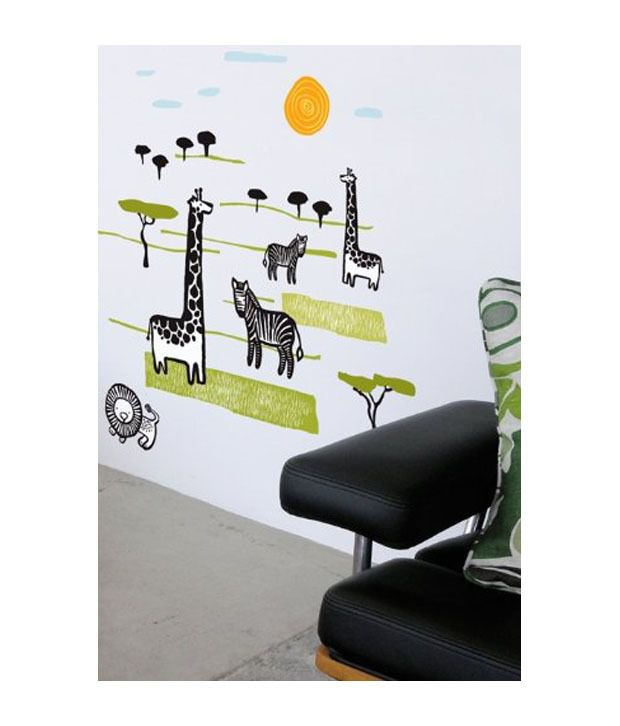 Buy blik wall decals multi wall stickers best prices snapdeal - Blik wall stickers ...