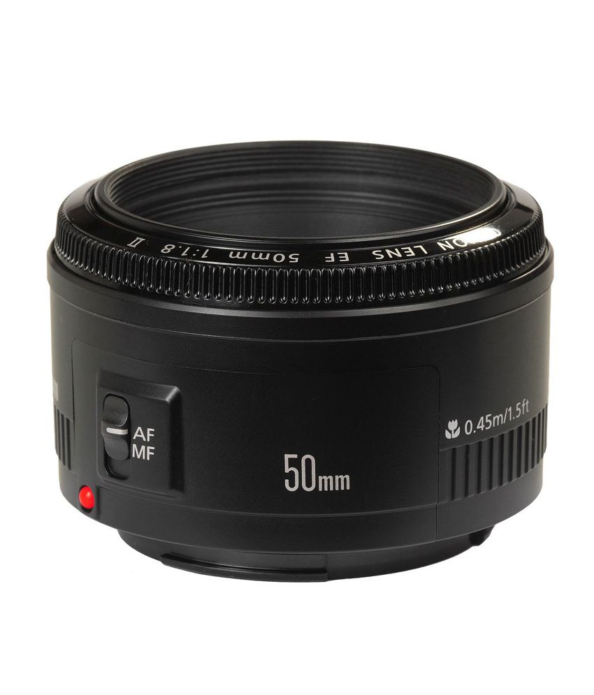 Canon 50mm EF f/1.8 II Lens