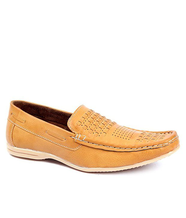 Foot N Style Tan Loafers
