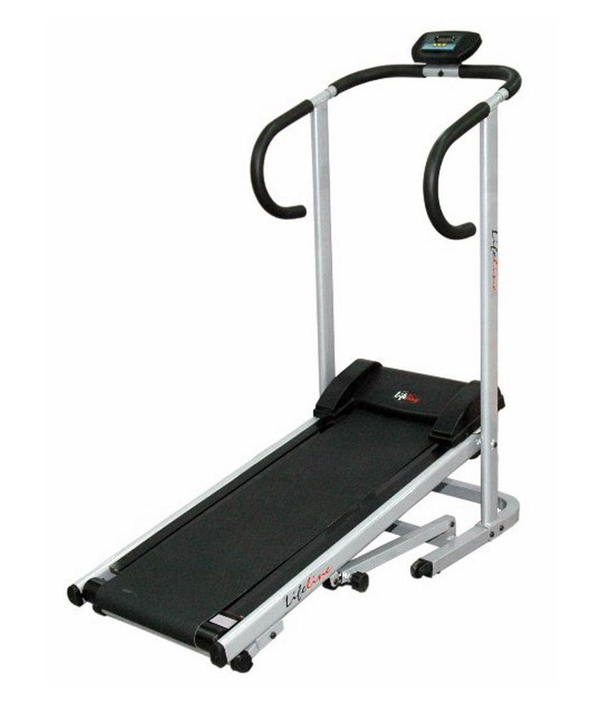 Life Fitness Treadmill Comparison: Lifeline Manual Treadmill: Buy Online At Best Price On