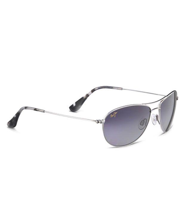 Maui Jim Aviator Mjgs245-17-56 Men'S Sunglasses