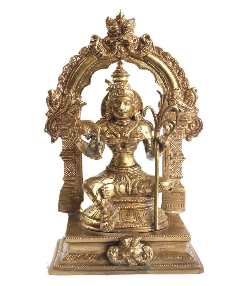 Vedanta Art Inc. Glossy Bronze Religious Idols