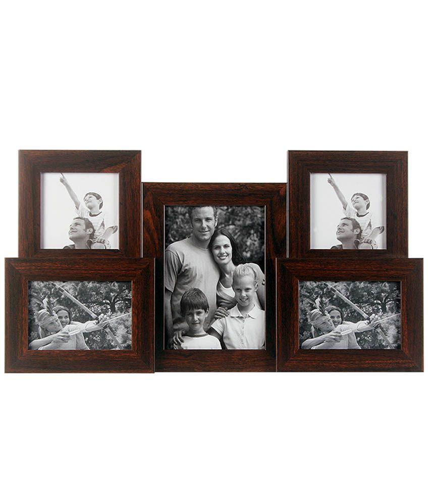 Wens brown medium density fibreboard mdf photo frames