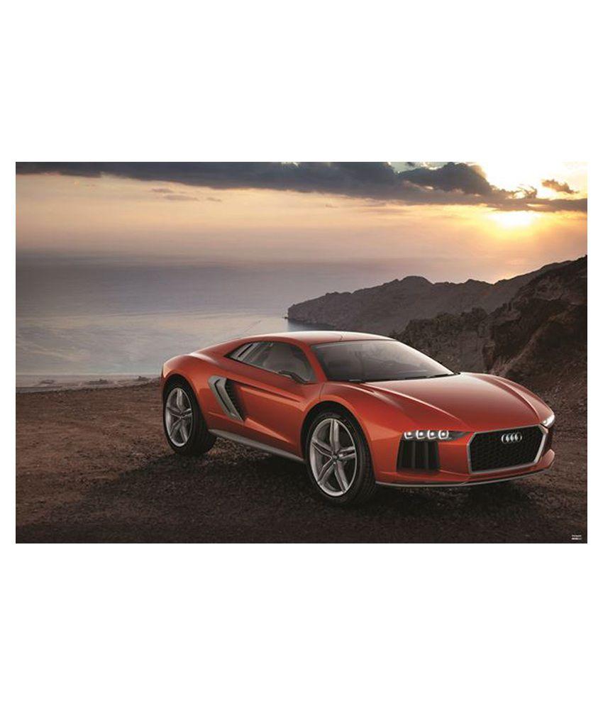 Buy Audi Super Car Poster PS00000243 Online At Best Price