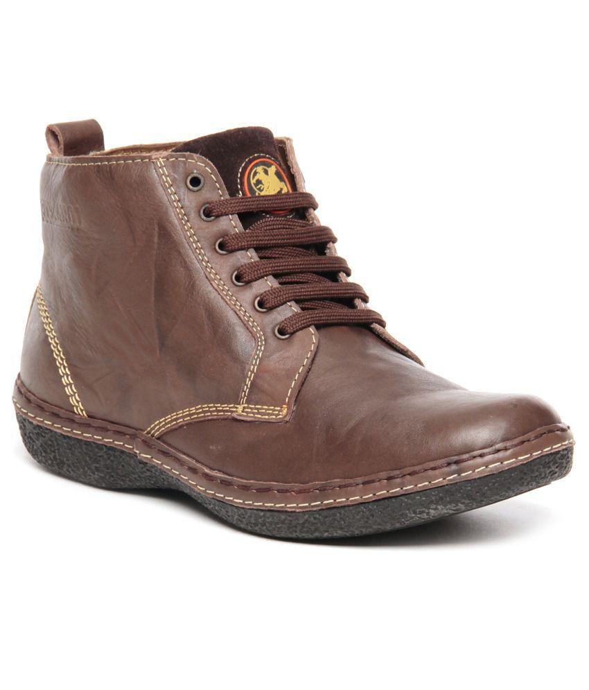 Buckaroo Sturdy Brown Ankle Length Boot