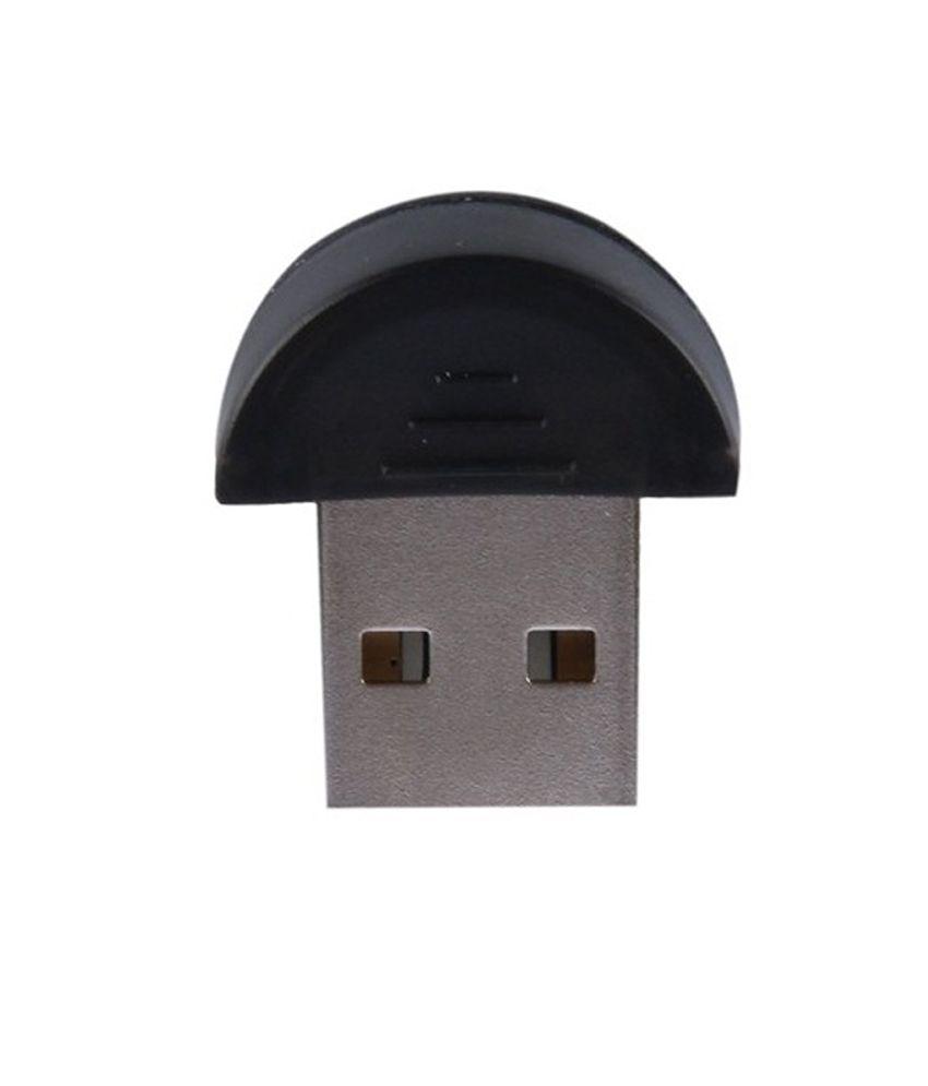 Indiashopers Usb Bluetooth Dongle Plug & Play For All Windows
