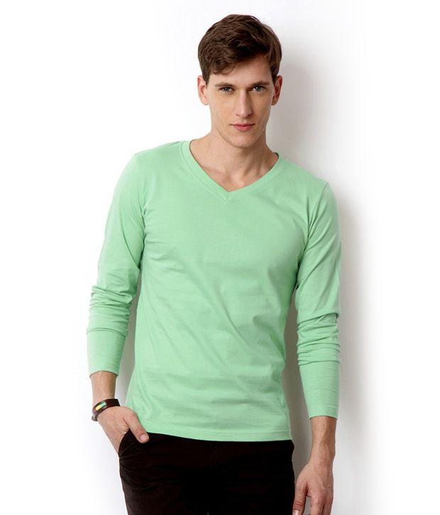 Street Junkies Pista Green Full Sleeve T-Shirt