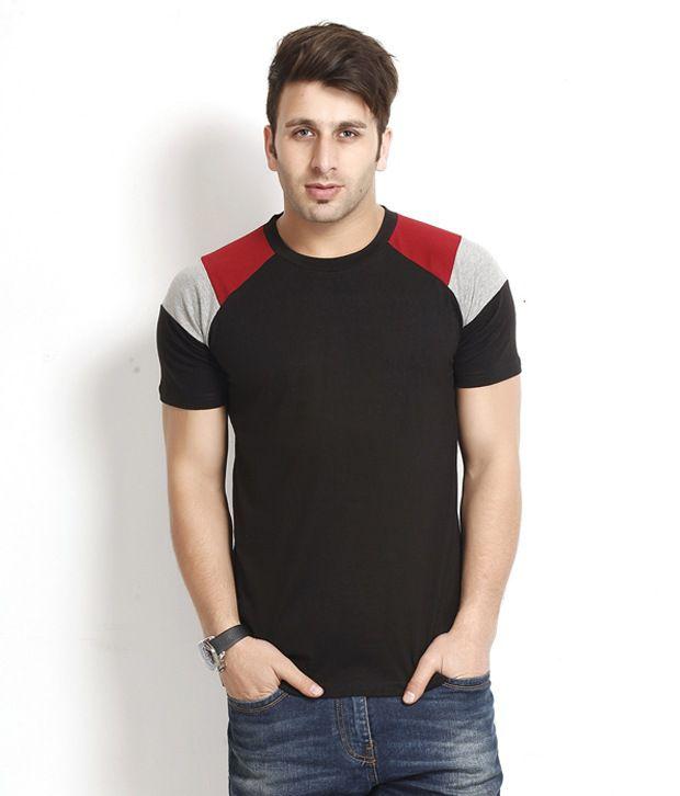 Gritstones Appealing Black T Shirt