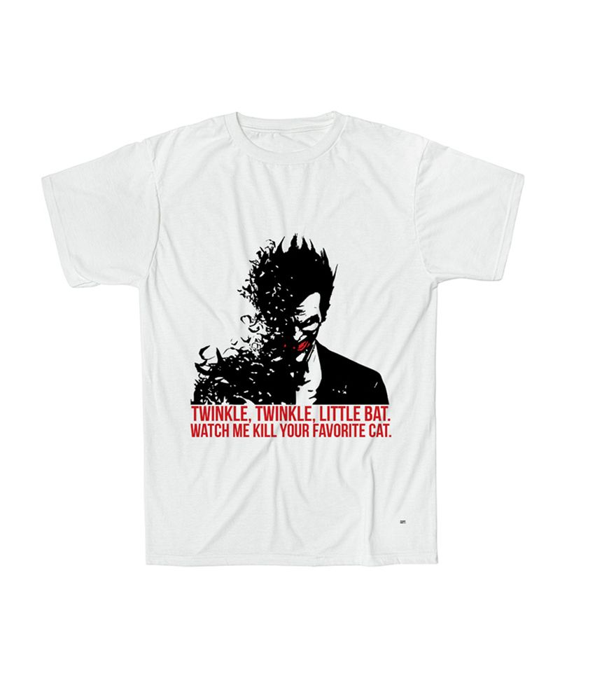 d07c5251 Buy Batman Joker Arkaman T-shirt TS00000153 Online at Best Price in India -  Snapdeal