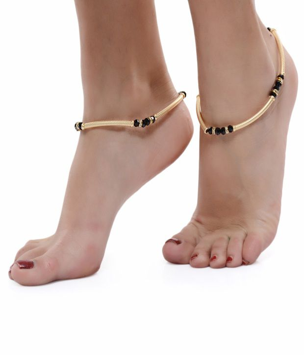 ShinningDiva Wedding Wear Pair of Anklet