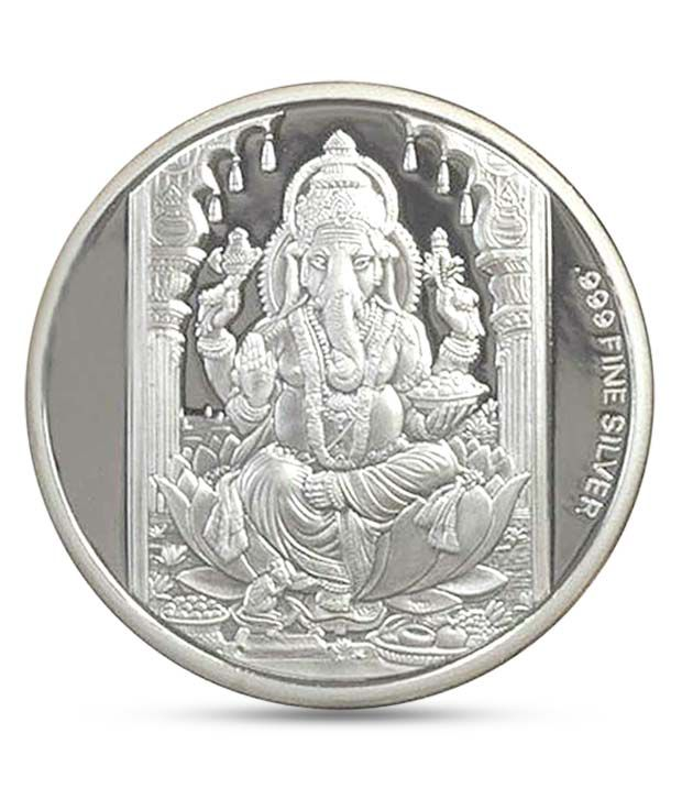10 Gm 999 Purity Silver Coin By Ag Buy 10 Gm 999 Purity Silver Coin By Ag Online In India On Snapdeal