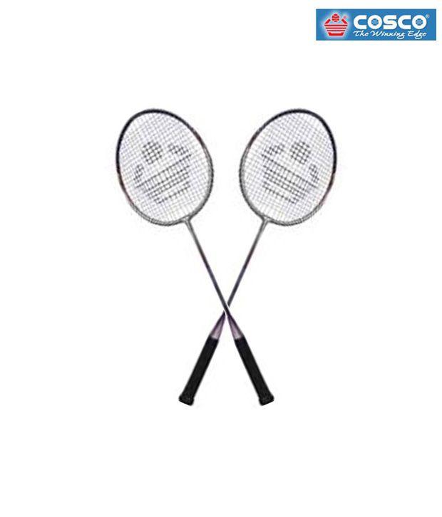 Set of 2 Cosco CB 90 Badminton Rackets