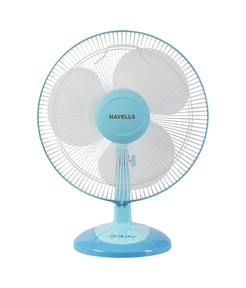 Havells 400 Mm Swing Lx Table Fan Blue Price In India