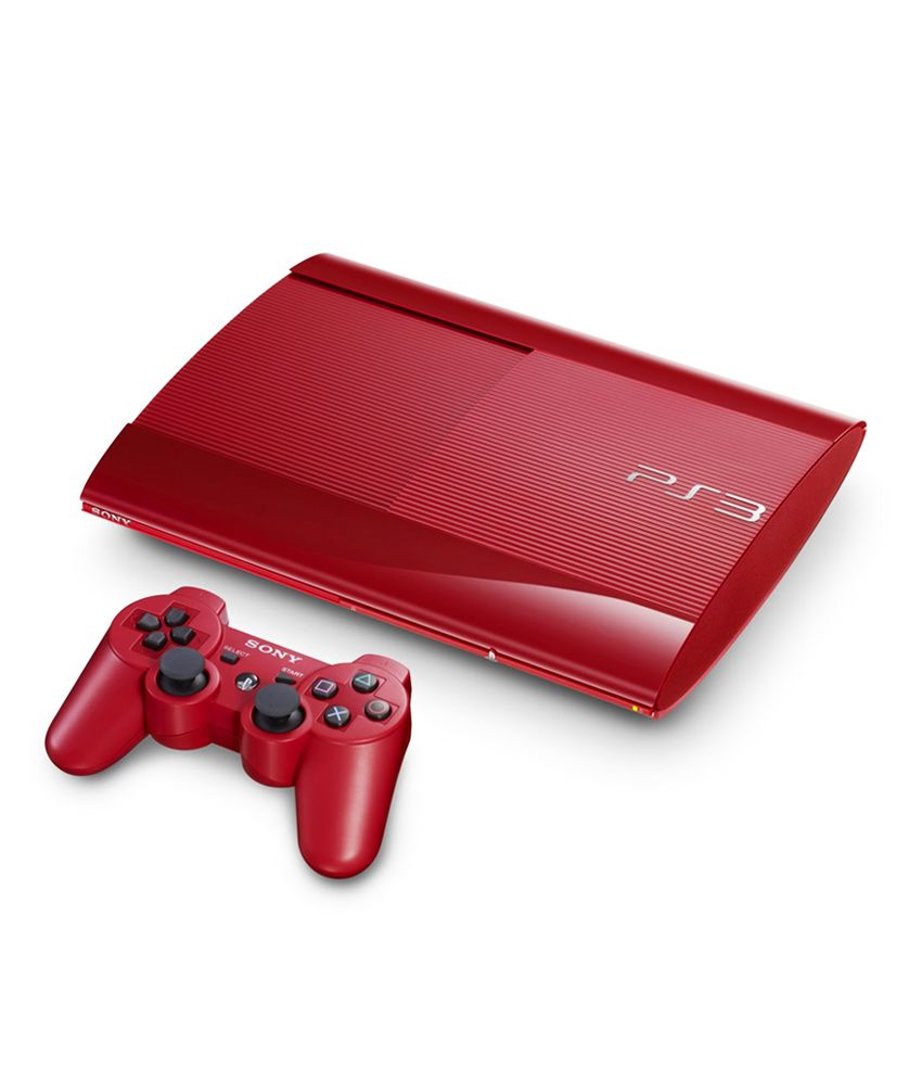 c80ac6ea726a Buy Sony Playstation 3 (12GB) (Red) Online at Best Price in India - Snapdeal