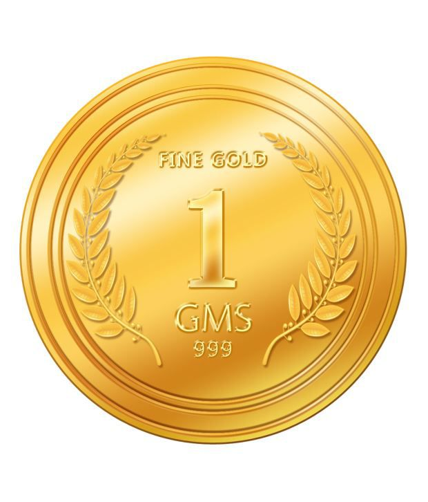 1 gm gold coin price
