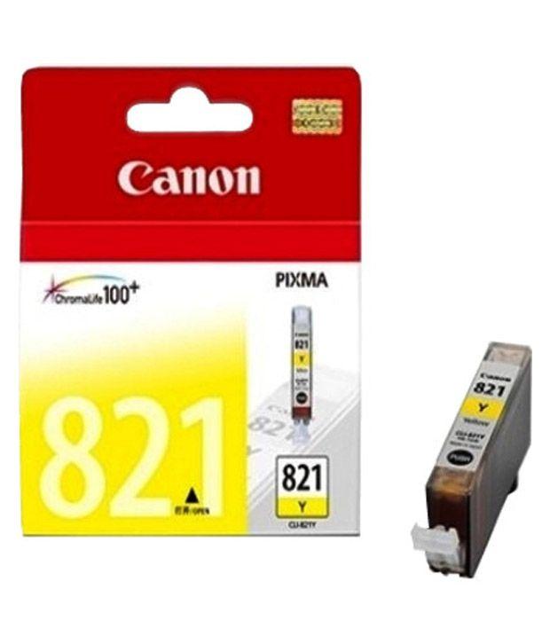 Canon CLI 821Y Ink cartridge (Yellow)