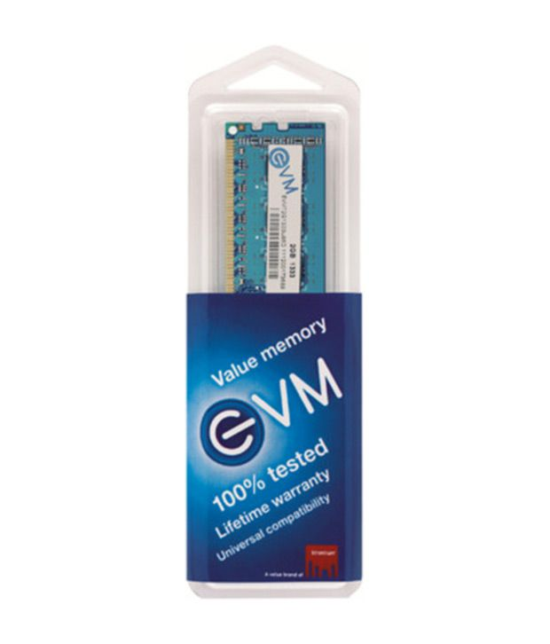EVM DDR3 4  GB PC RAM  EVMT4G1333U86D
