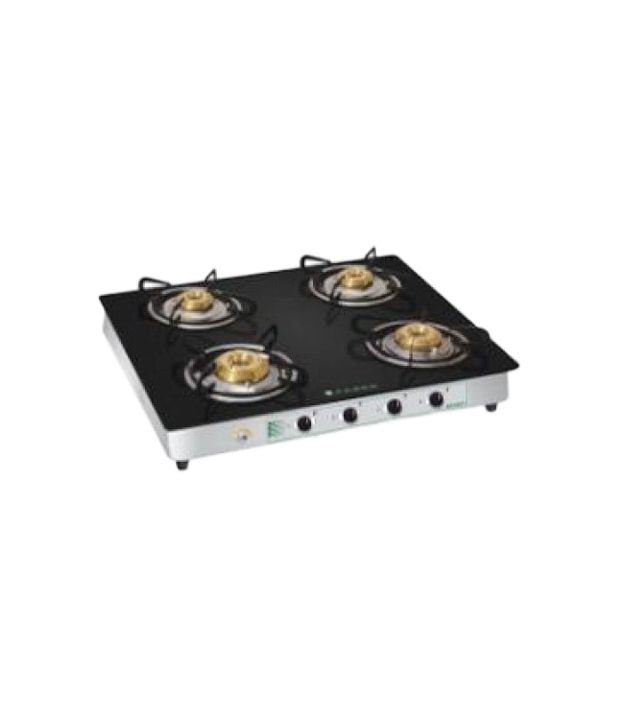 Faber Crystal 40 CT AI Gas Cooktop (4 Burners)