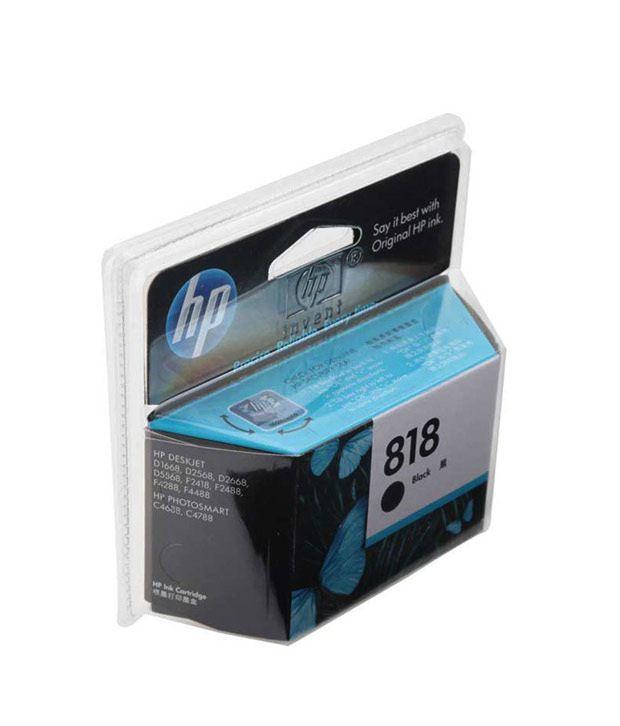 HP 818 Inkjet Cartridge (Black)