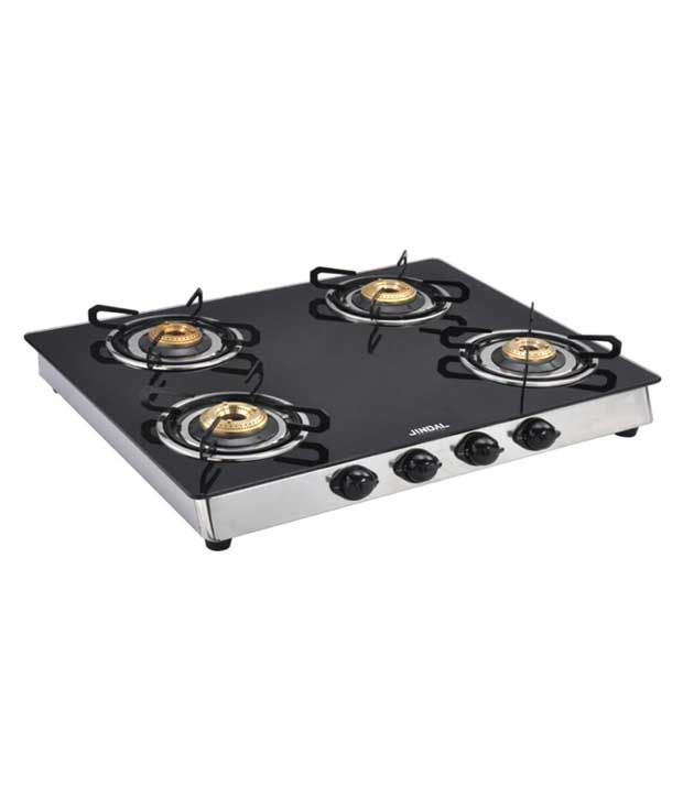 Jindal Gloria 4 Burner Auto Ignition Gas Cooktop