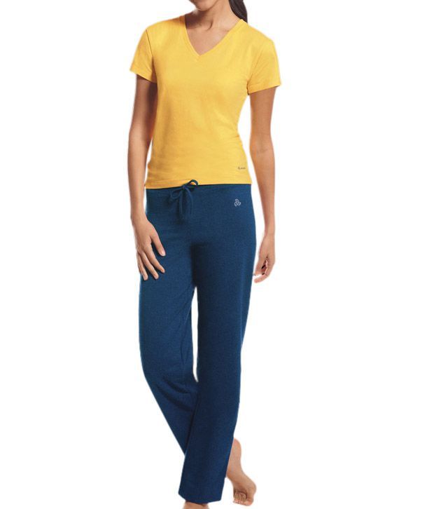 ea2b991827 Buy Jockey Multi Color Cotton Pajamas Online at Best Prices in India ...