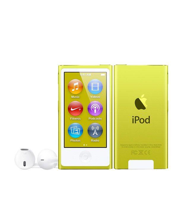 Apple iPod Nano 16GB Yellow (7th Generation)