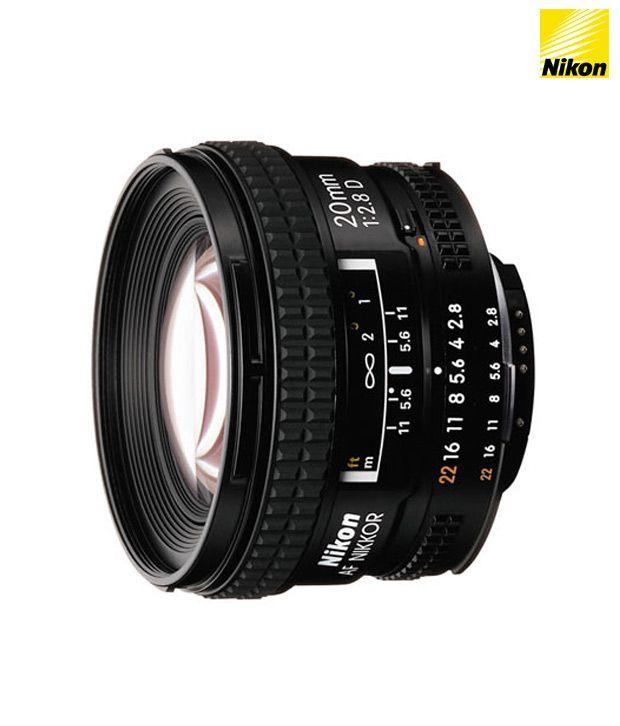 Nikon 20 mm f/2.8D AF Nikkor Lens  (FX Format)