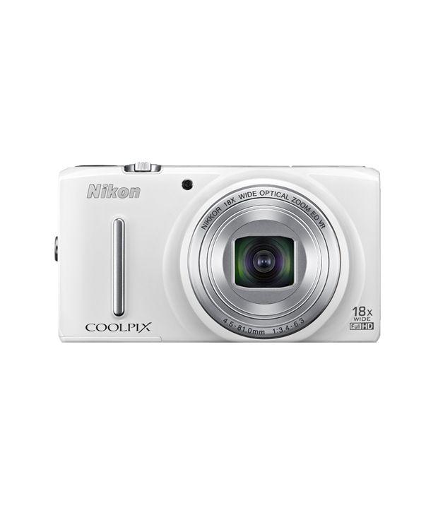 Nikon Coolpix S9400 18.1MP Digital Camera (White) Price in India ...