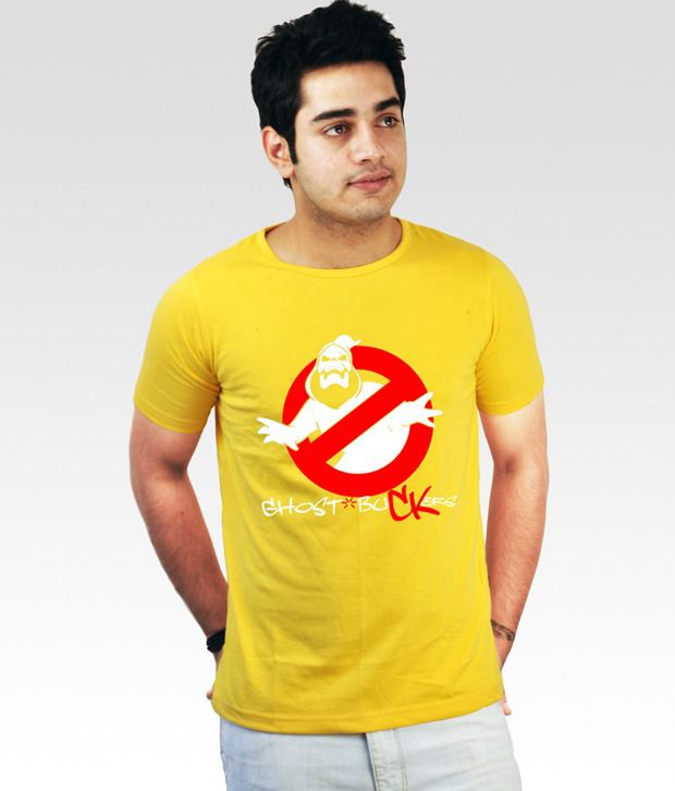Incynk Yellow Ghost Buckers T-Shirt