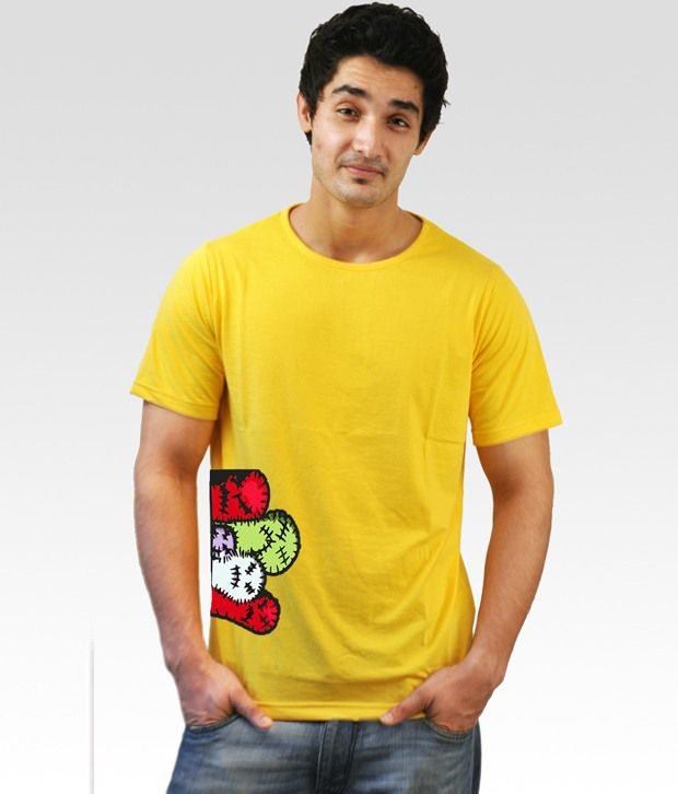 Incynk Yellow maDFingers T-Shirt