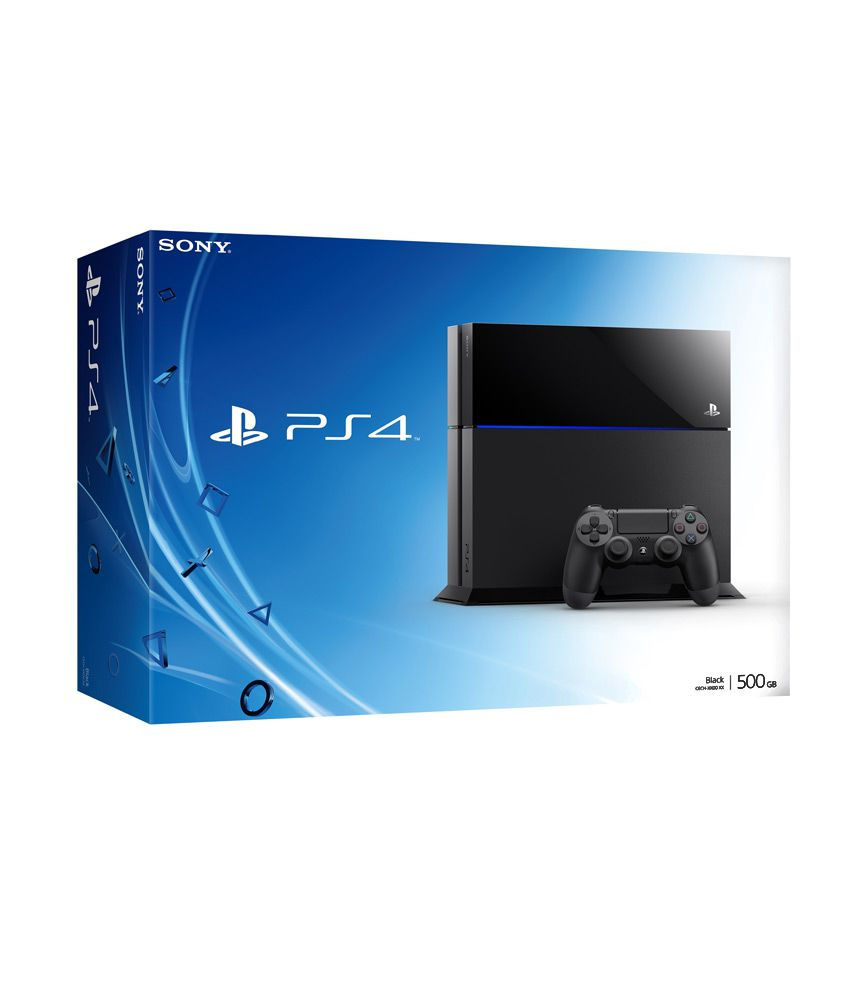 Sony Playsation 4 500gb Console Buy Ps4 Slim Cuh 2006a Jet Black Extra Controller Ds4 New Model Playstation