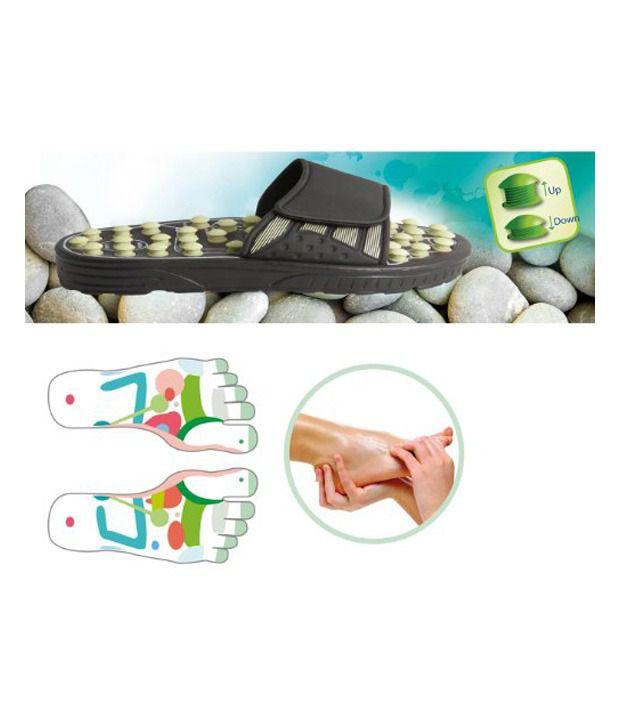 adea53f6dfda ... Reflexology Sandals - Massage Slippers  Acupressure Foot Massager  Foot  Massager  Reflex Massage Sandal