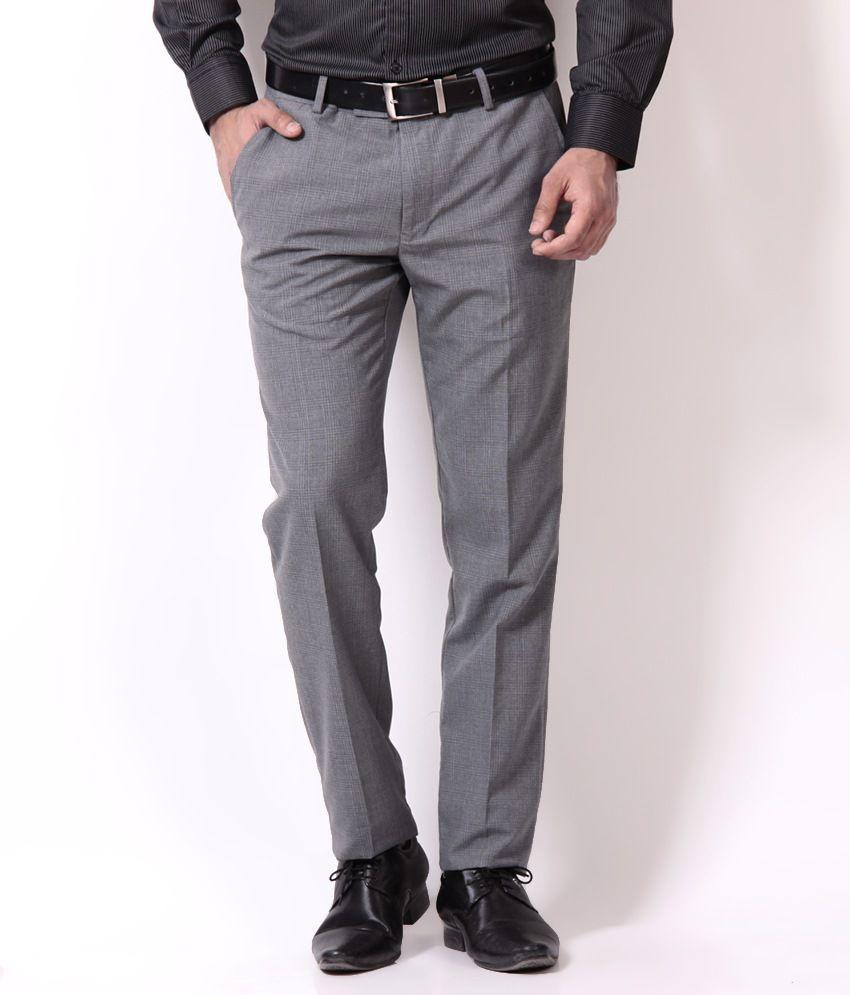 Mark Taylor Distinctive Gray Trousers