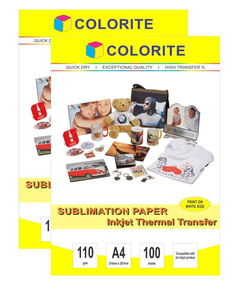 Colorite Sublimation Heat Transfer Paper