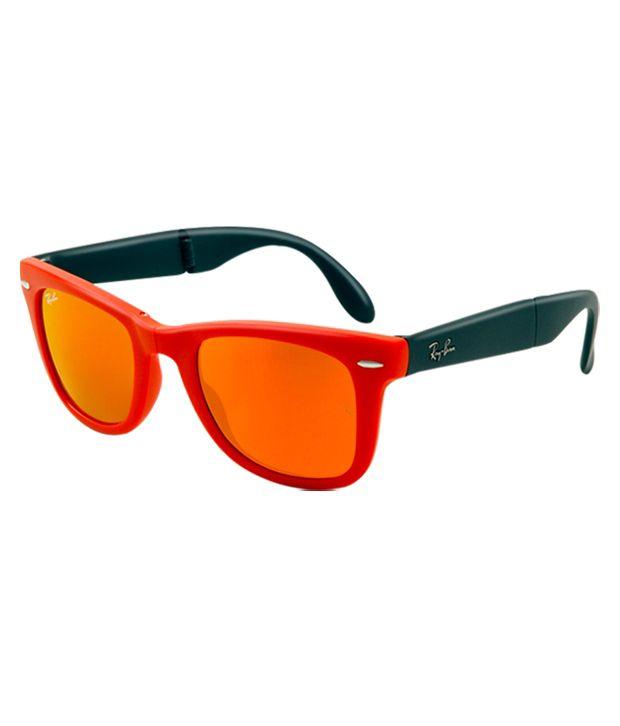 b515e9829b255 Ray-Ban Foldable Wayfarer Rb4105-601969-Size-50 Unisex Sunglasses - Buy Ray- Ban Foldable Wayfarer Rb4105-601969-Size-50 Unisex Sunglasses Online at Low  ...