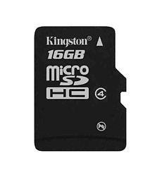 Kingston microSDHC Class 4 16GB Card