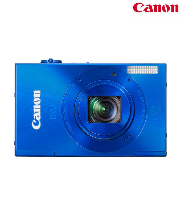 Canon IXUS 500HS 10.1MP Digital Camera (Blue)