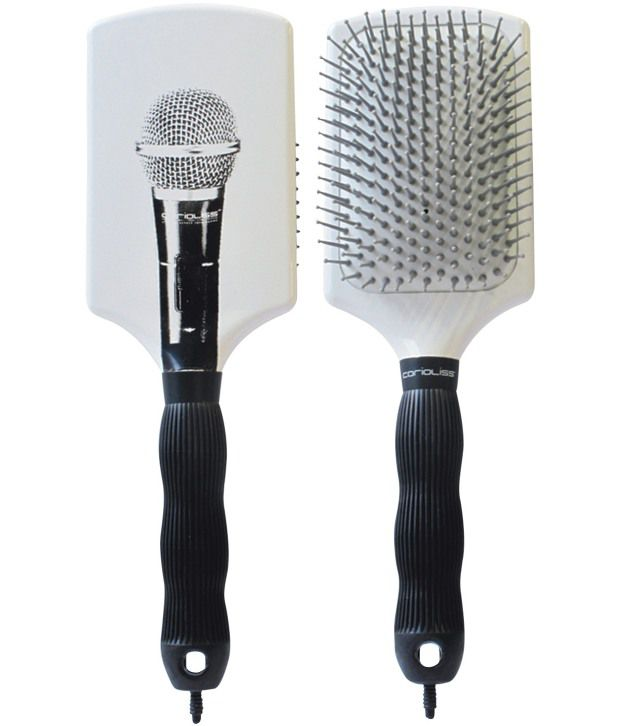 Corioliss Paddle Brush Microphone White