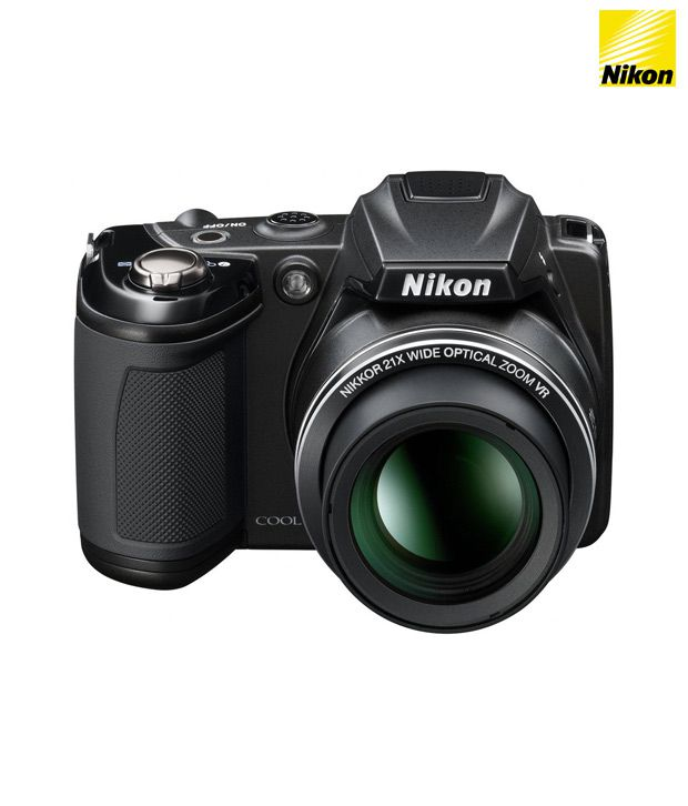 Nikon Coolpix L310 14.1MP Semi-SLR Camera (Black)