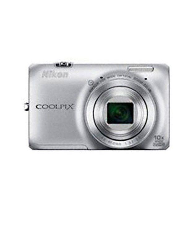 Nikon Coolpix S6300 16MP Digital Camera (Silver)