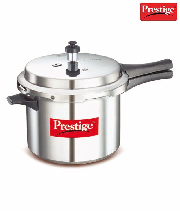 Prestige 5 Ltrs Popular Aluminium Pressure Cooker