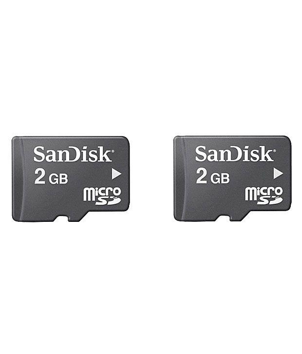 Sandisk Micro SD 2GB Card