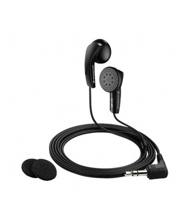 Sennheiser MX 170 Earbuds Earphones (Black) Without Mic