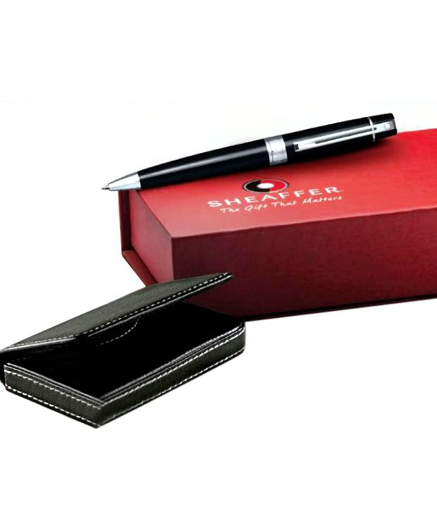 Sheaffer Gift Collection Ball Pen (Get a Free Sheaffer Business Card Holder) (9312BP)